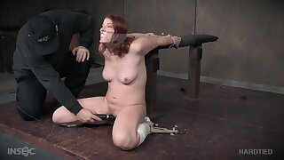 Gorgeous Young Girl Attempts Bdsm Painf