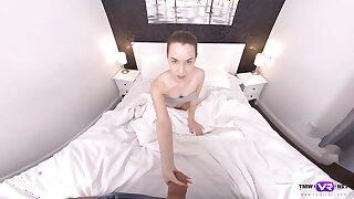 Really hot VR porn video featuring sex-appeal girl Mona Crestfallen