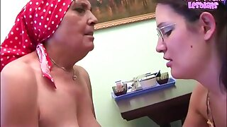 Elderly and young Lesbians - Petri, Naomi