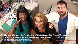 Carol Cummings' Annual Gyno Exam By Doctor Tampa, Nurse Misty
