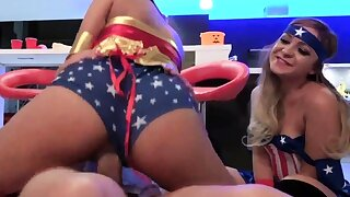 Mistress mendicant teen and anal Halloween Scare
